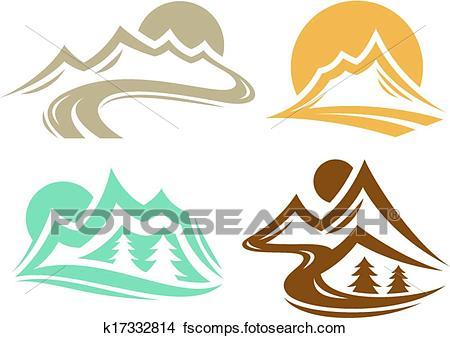 450x338 Mountain Climbing Clipart Eps Images. 7,020 Mountain Climbing Clip