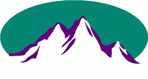 490x262 Mountain Clipart