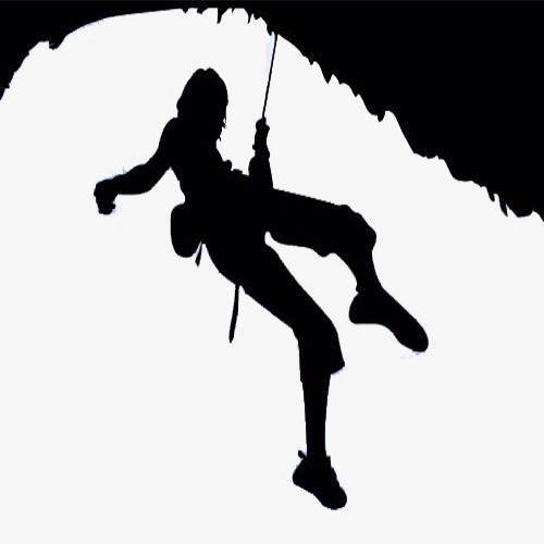 500x500 Simple Beauty Rock Climbing Illustrator, Simple, Beauty, Rock