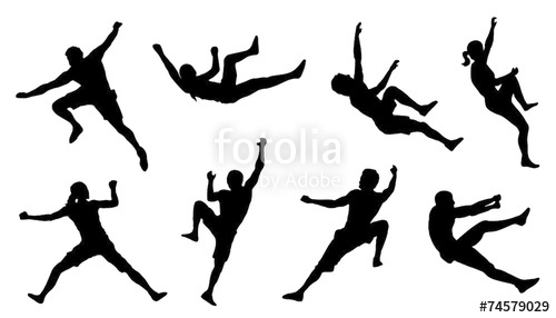 500x286 Climb Silhouettes Stock Image And Royalty Free Vector Files
