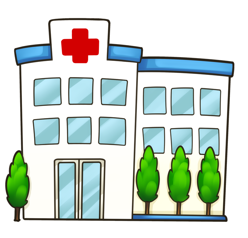 800x766 Bulding Clipart Medical Clinic