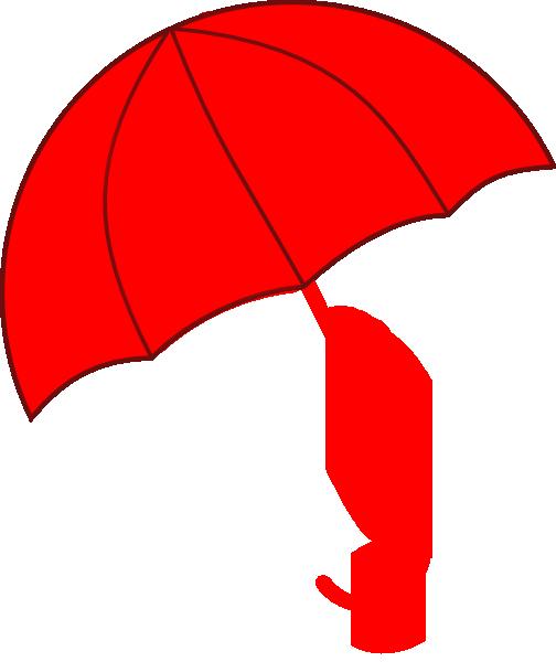 504x600 Red Umbrella Clip Art