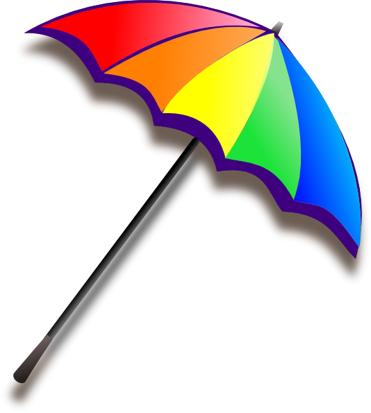 534x595 Umbrella Clipart Sun