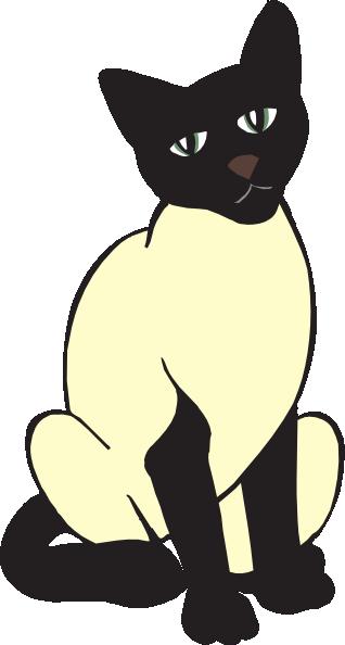 318x594 Siamese Cat Clip Art