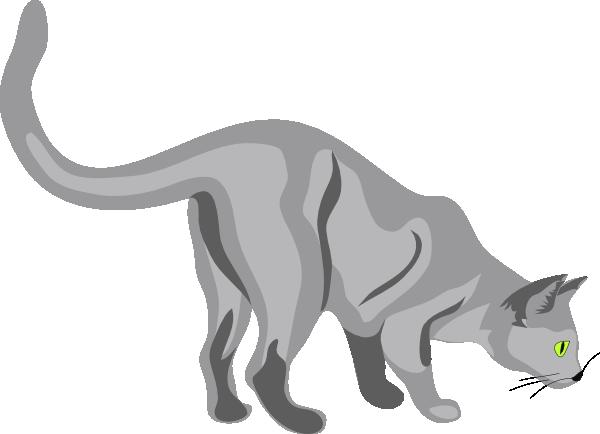 600x434 Cat Clip Art