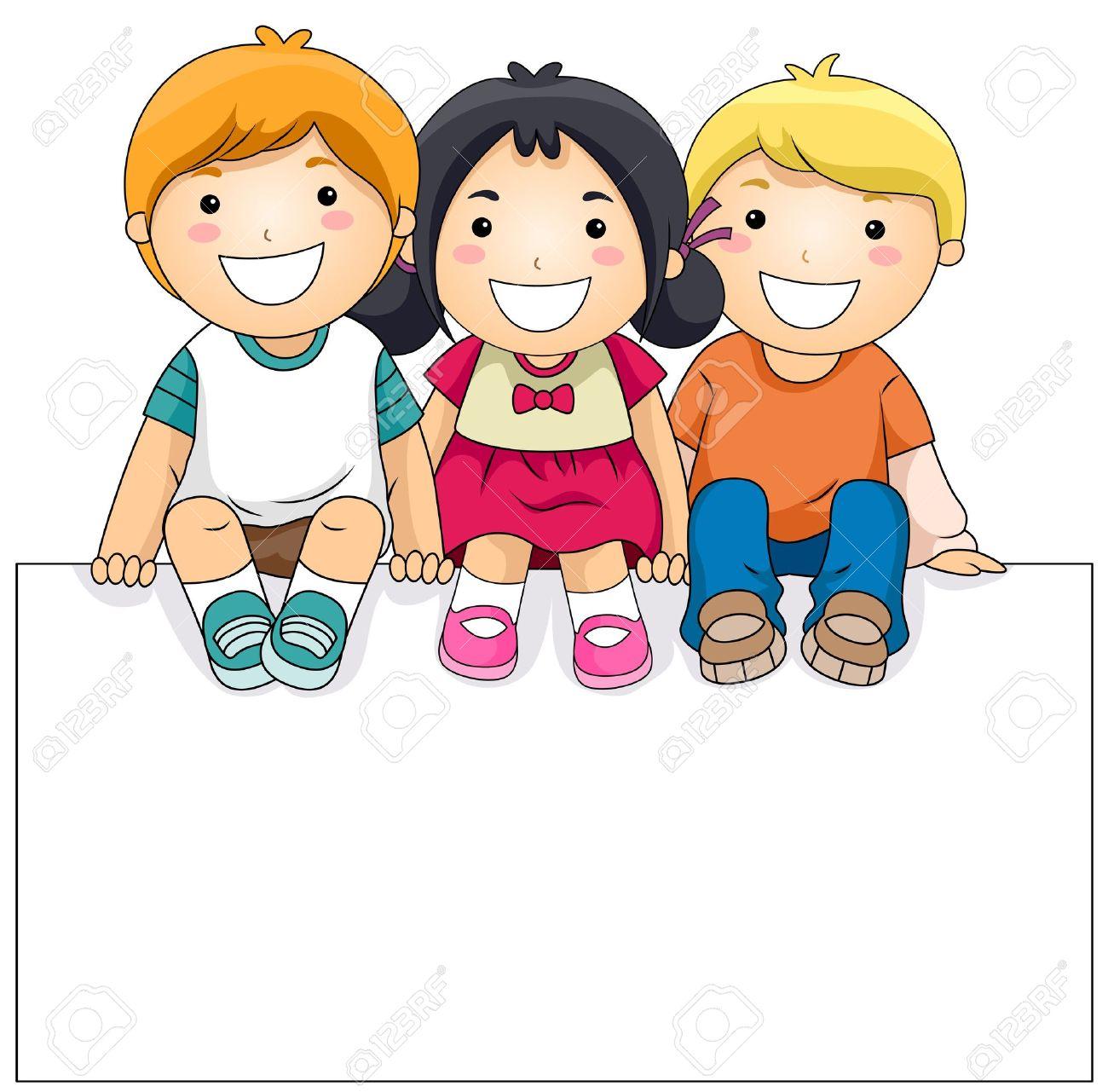 1300x1281 Cartoon Kid Clipart