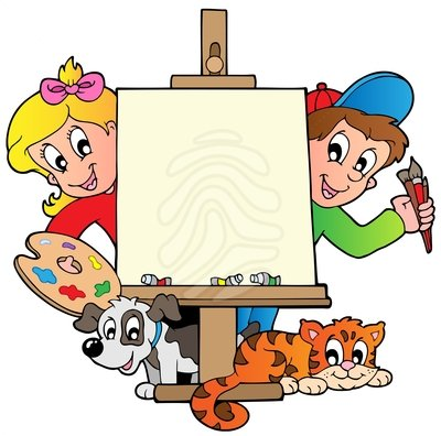 400x396 Clip Art Cartoon Kids With Clipart Panda