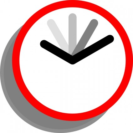 425x425 Clock Clip Art Free Vector In Open Office Drawing Svg Svg