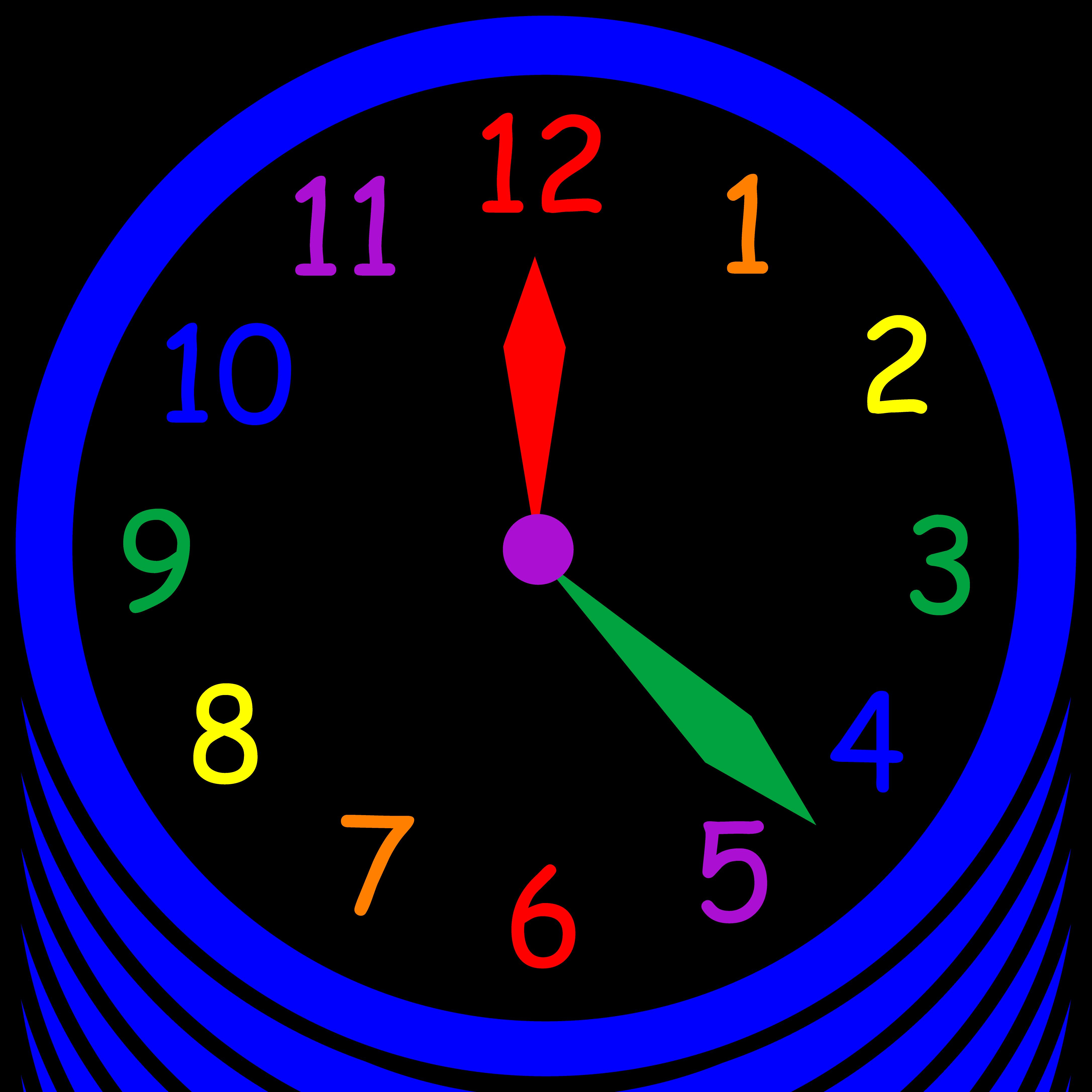 4346x4346 Wall Clock