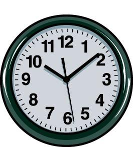 265x294 Clock Clip Art