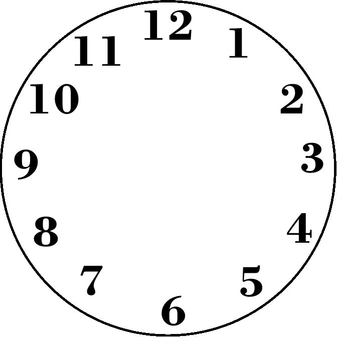 672x672 Best Blank Clock Ideas Clock Template, Clock