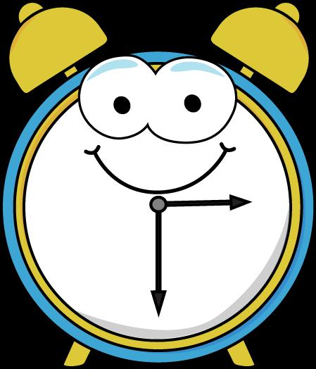 449x524 Cartoon Alarm Clock Clip Art