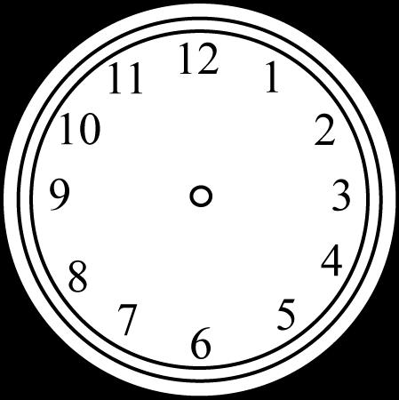 449x450 Clock Clip Art
