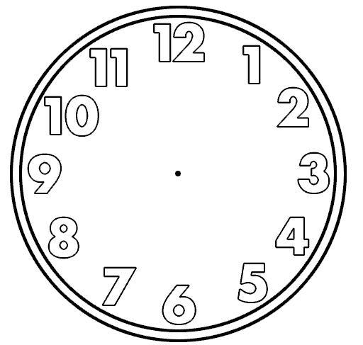 512x487 Clock Face Clip Art Many Interesting Cliparts