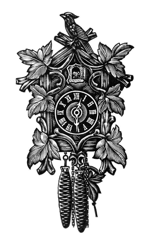 736x1170 Steampunk Clipart Vintage Clock
