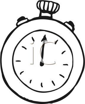 287x350 Stop Watch Clock Clipart, Explore Pictures