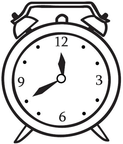 420x489 Table Clock Clipart, Explore Pictures