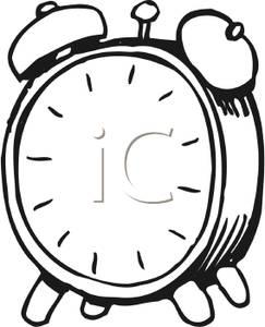 243x300 Alarm Clock Clipart Black And White Clipart Panda