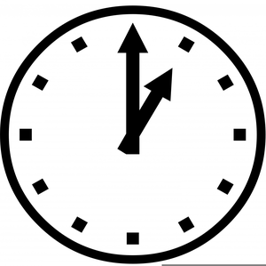 300x299 Ticking Clock Animation Clipart Free Images
