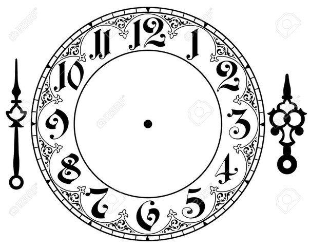 Clock Face Clipart