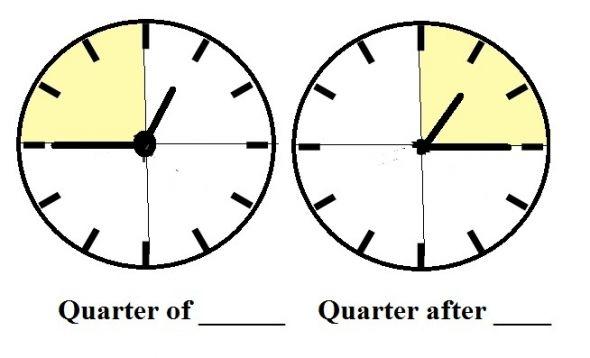 590x358 Clock clipart quarter
