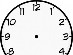 Clock face. Clipart free download best