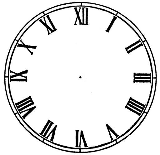 512x497 The 25+ best Blank clock ideas Clock template