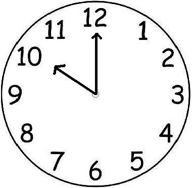 380x372 digital clockface