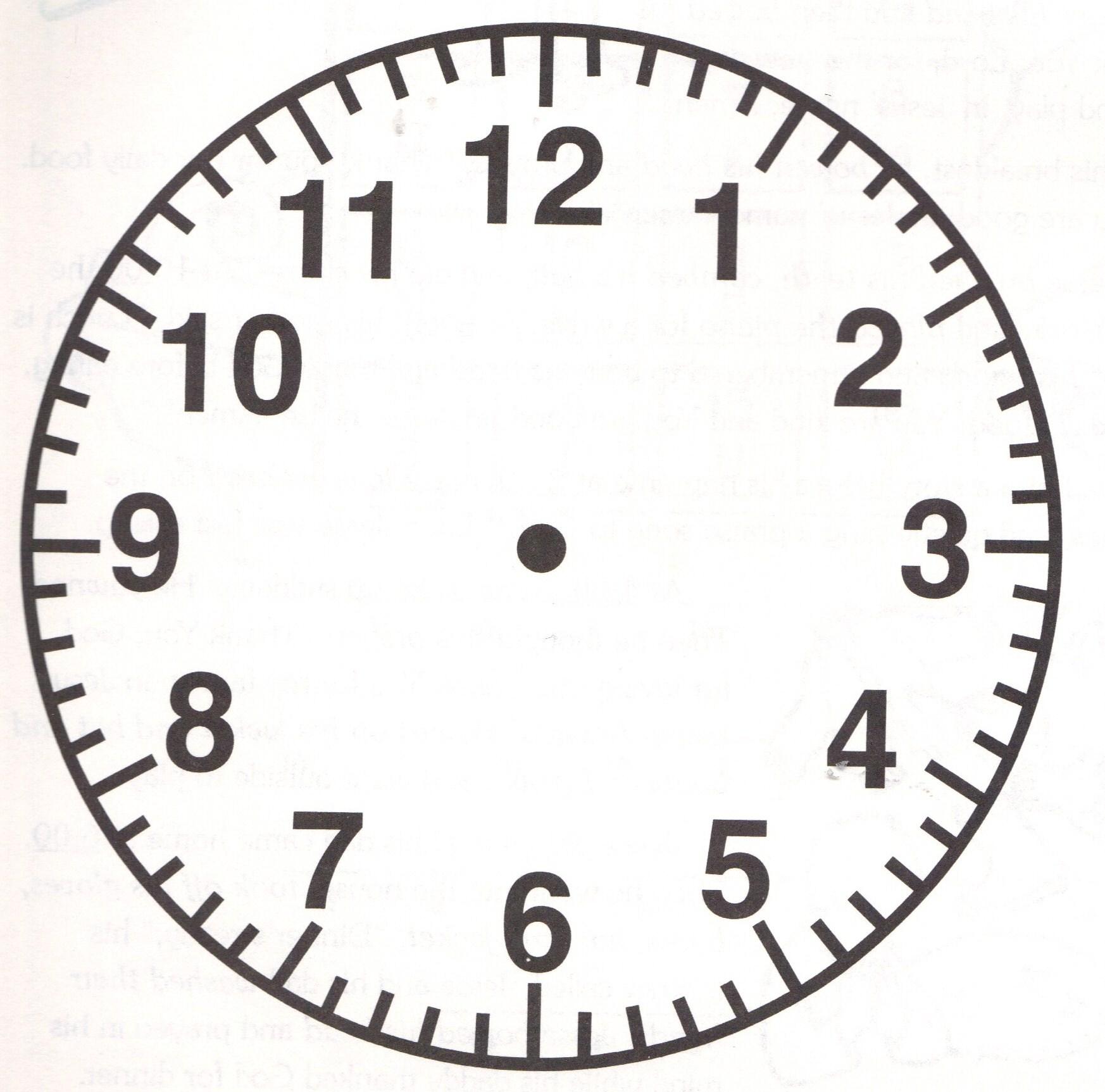 1746x1725 paper plate clock Treasure Island Crafts Props