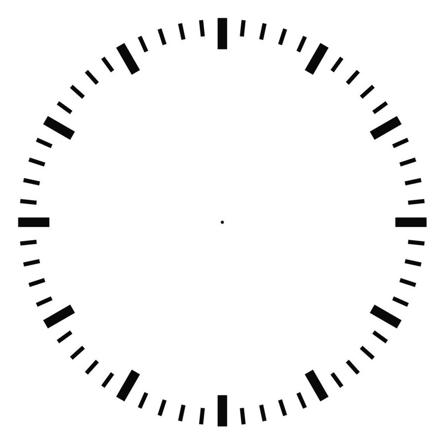 894x894 Clock Face By Agf81