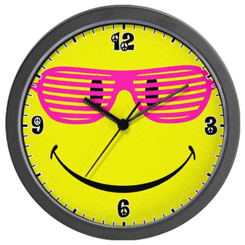 1000x1000 Clock Clipart Smiley