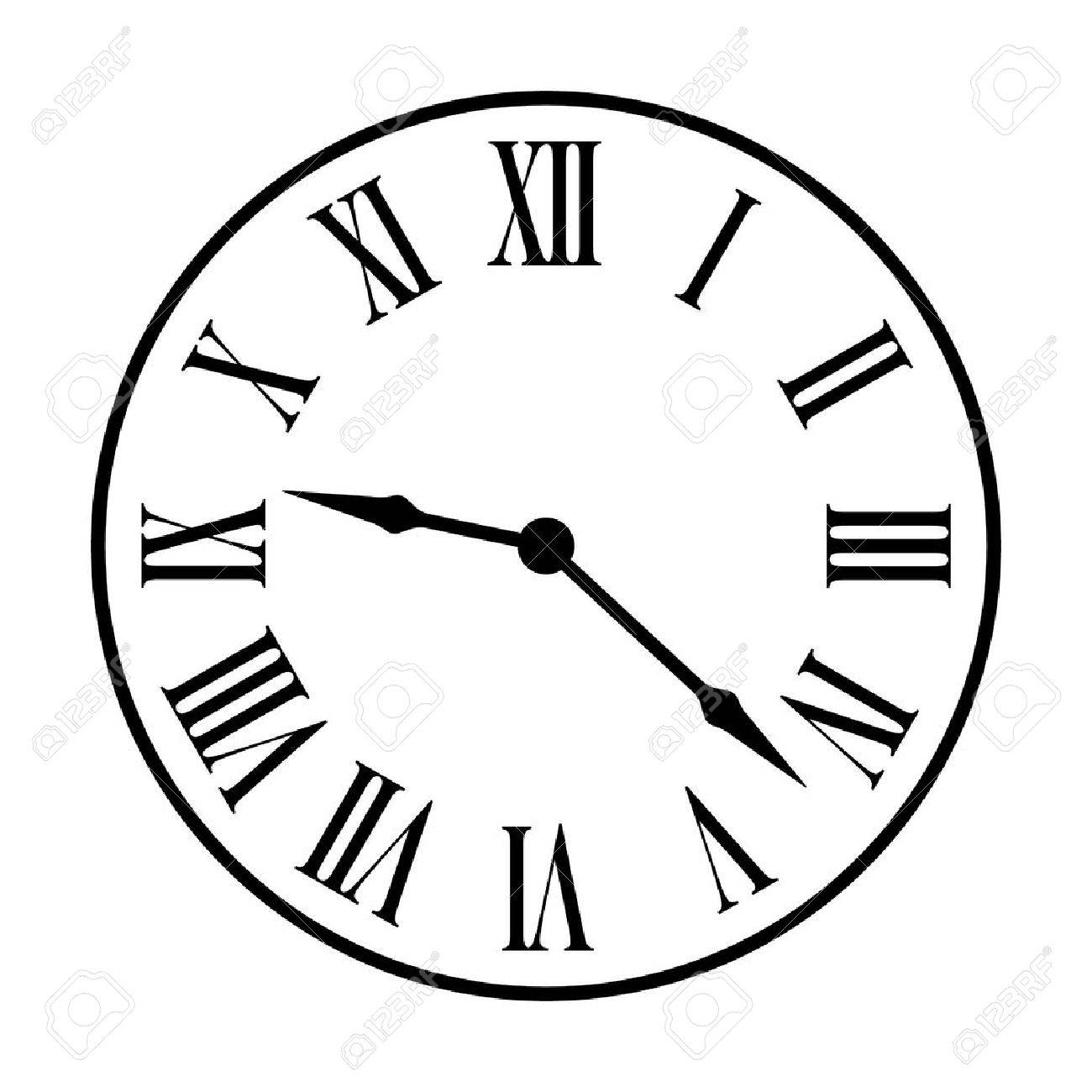 Clock Face Images Free Download On Clipartmag
