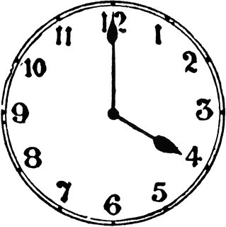 319x320 Beautiful Clock Face Images Clip Art 4 O Clock