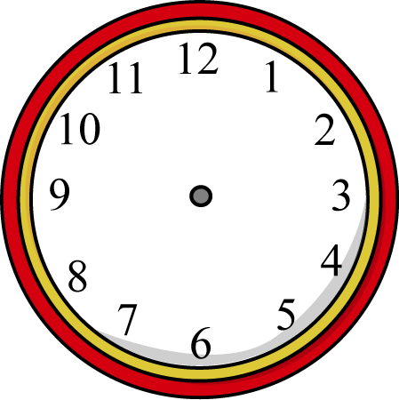 Clock Hands Clipart | Free download on ClipArtMag