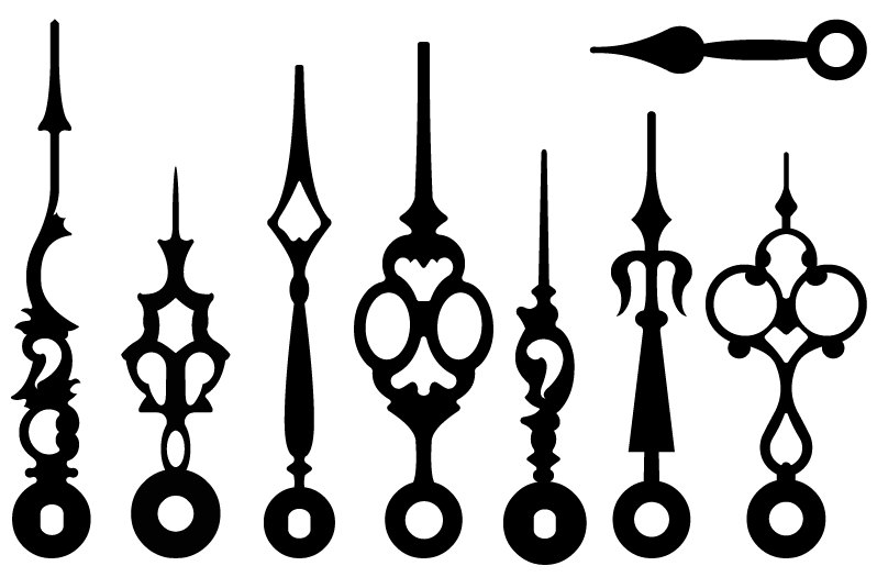 Clock Hands Clipart   Free download on ClipArtMag
