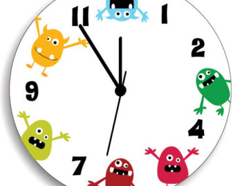 340x270 Clock Clipart Cute