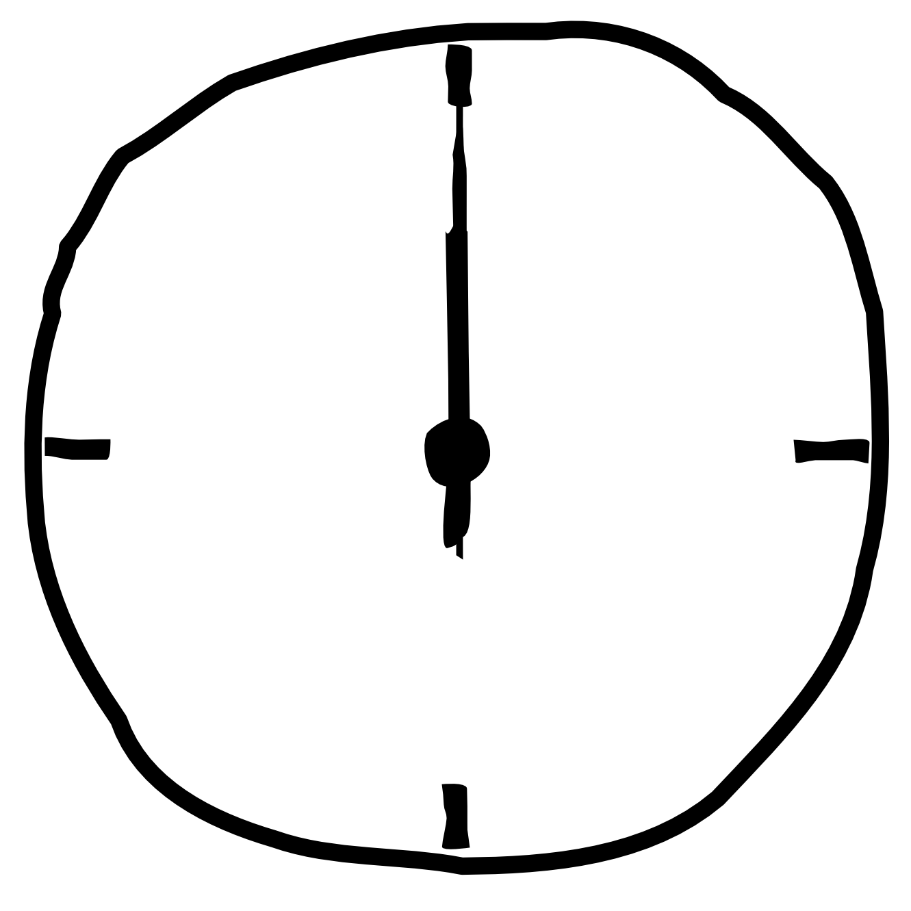 1331x1331 Digital Clock Clipart