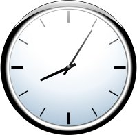 199x197 Free Wall Clocks Clipart