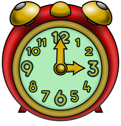493x511 Kids With Clocks Clip Art Images Image
