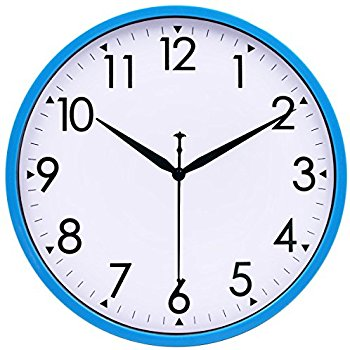 350x350 Hippih 10 Silent Quartz Decorative Wall Clock Non