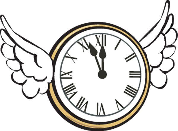600x444 Clock Clip Art