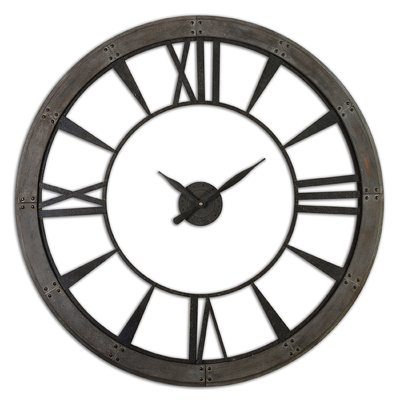 400x400 Upton Round Oversized Wall Clock Amp Reviews Joss Amp Main