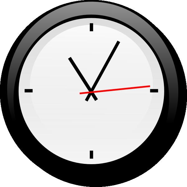 600x598 Clock Clipart Frpic