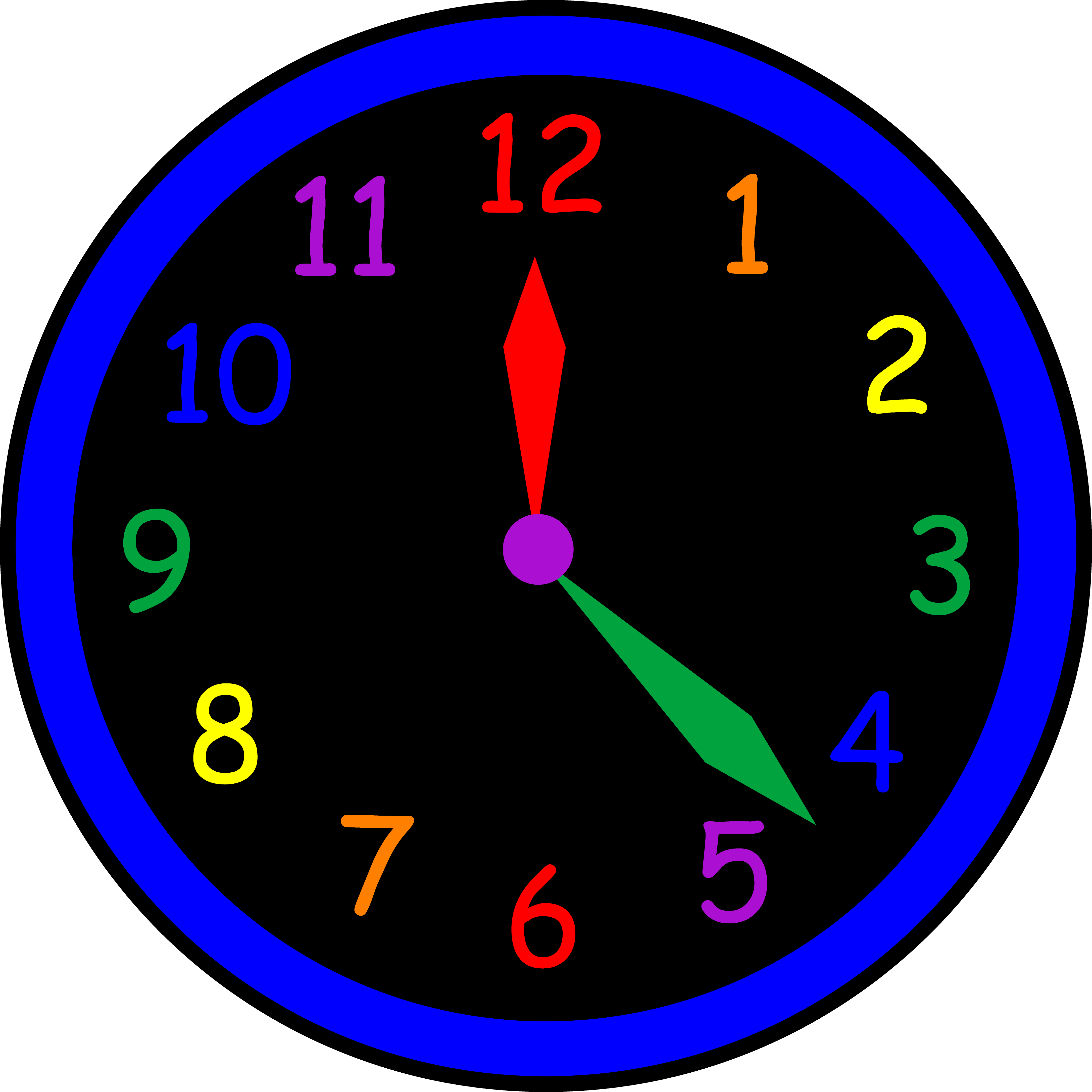 4346x4346 Clock Clipart For Kids Free Clipart Images