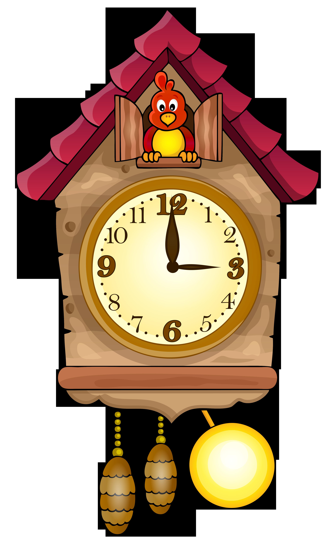 3768x6170 Cuckoo Clock Clipart