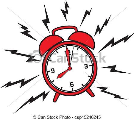 450x403 Loud Alarm Clock Clipart