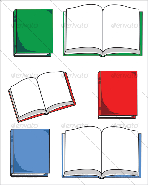 590x738 Clipart Closed Book