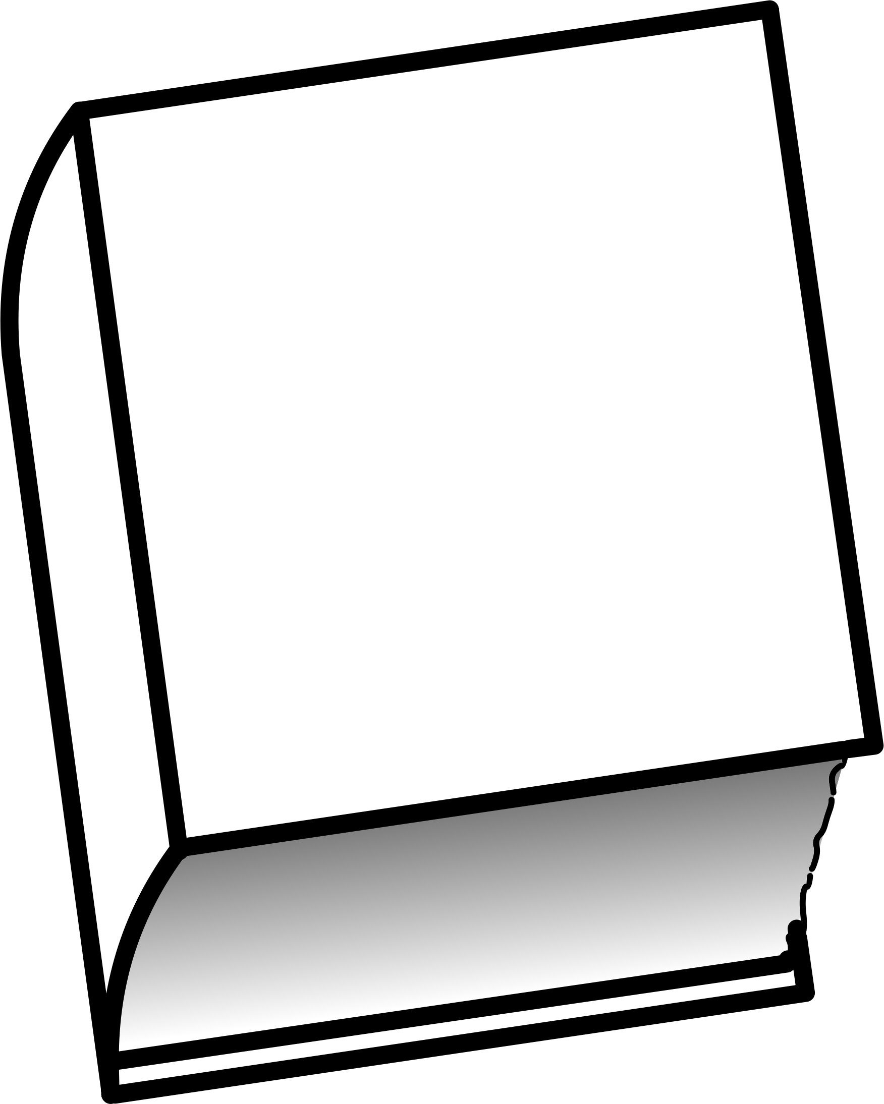 1752x2189 Cover Clipart Closed Book