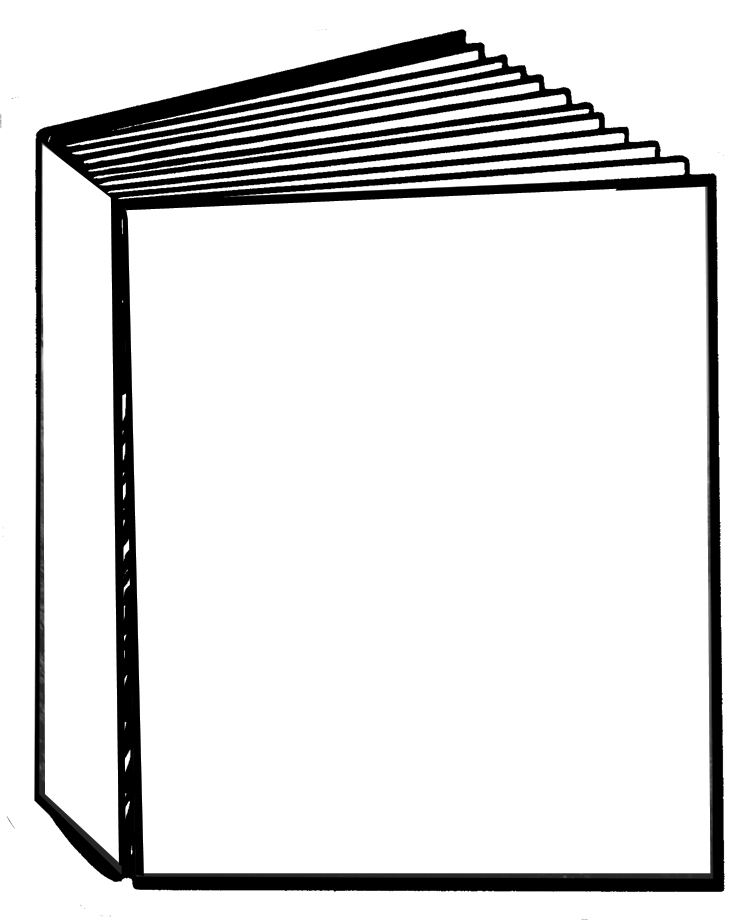 745x920 How To Draw A Closed Book