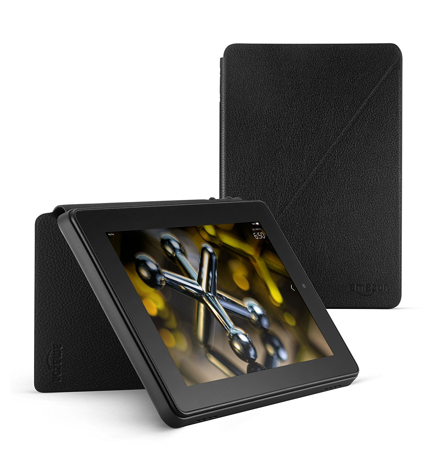 1464x1500 Standing Leather Case For Fire Hd 7 (4th Generation